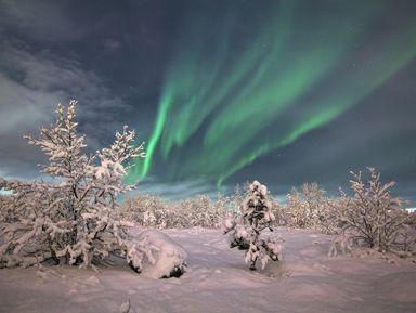 Полярное сияние: увидеть сказку Севера