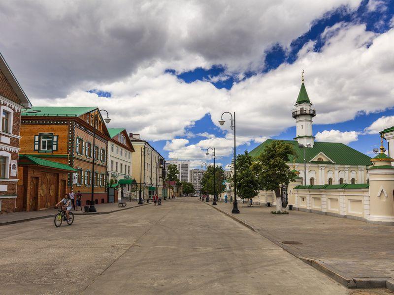 Шедевры Старо-Татарской слободы: мечети иусадьбы