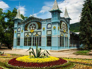 Исторические цветники и парки Пятигорска