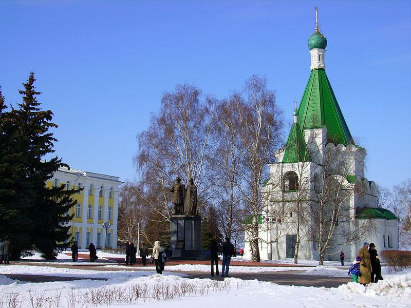 Нижегородский кремль — древнее сердце города