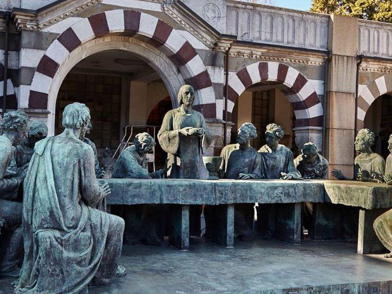 Экскурсия Миланское Mонументальное кладбище