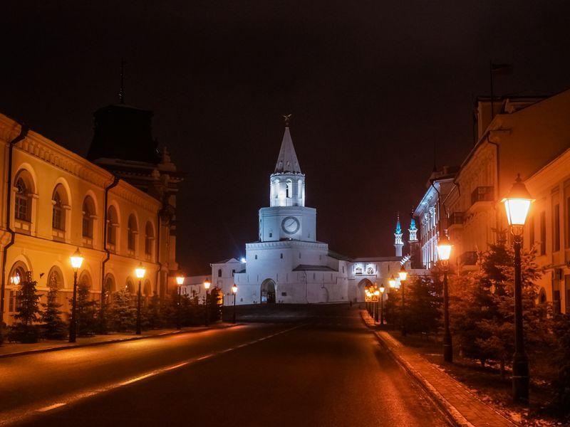 Волшебство вечерней Казани