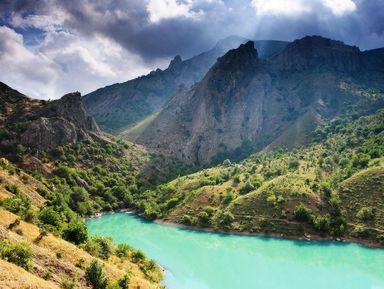 Другой Крым: Зеленое озеро и Арпатские водопады