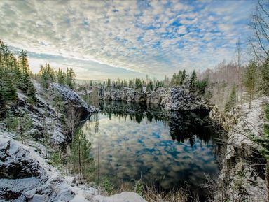 Рускеала, Белые мосты идругие водопады Южной Карелии