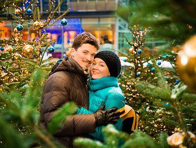 Рождественская фотосессия в Берлине