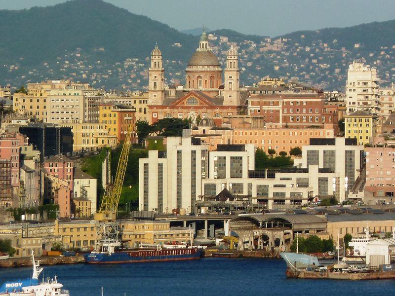 Исторический центр гордой Генуи