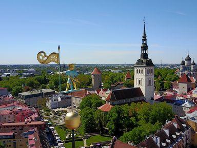 Таллин — город контрастов