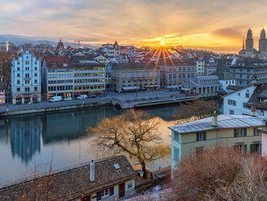 Экскурсия в Цюрихе: Цюрих — путешествие во времени