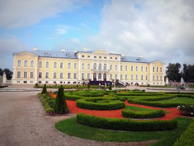 Рундальский дворец и Бауский замок — застывшая музыка прошлого