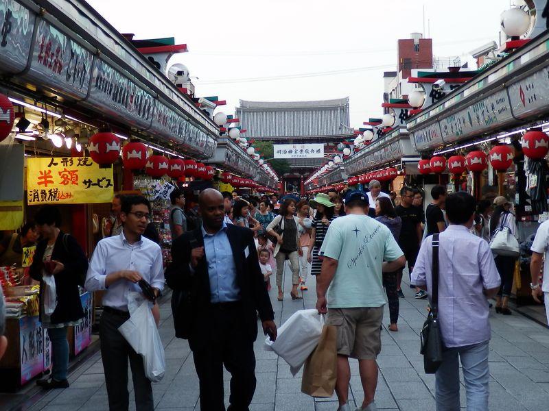Прогулка по Токийскому нижнему городу