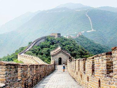 Чайная церемония на Великой Китайской стене