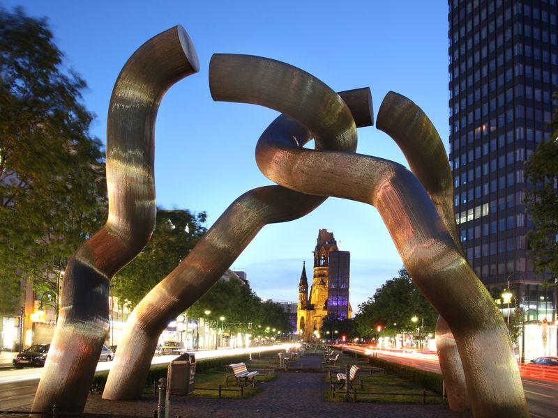 Центр Западного Берлина