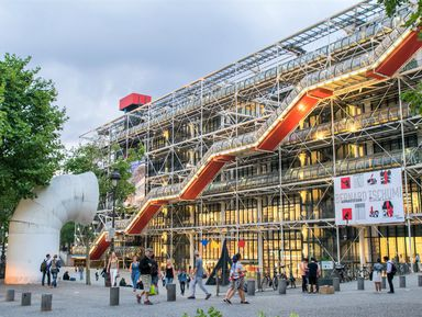 Помпиду — самый необычный музей Парижа