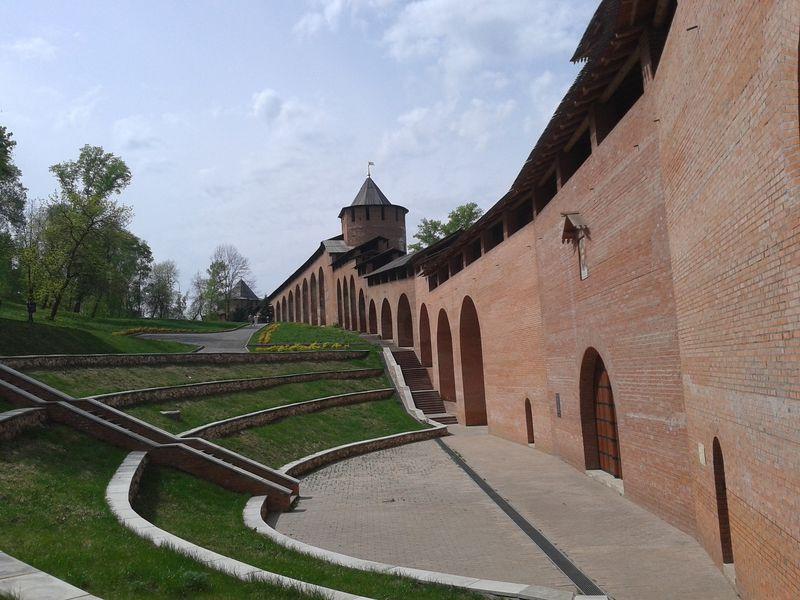 Нижегородский кремль иулица Рождественская