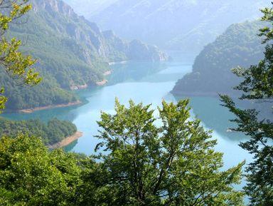Путешествие на Пивское озеро