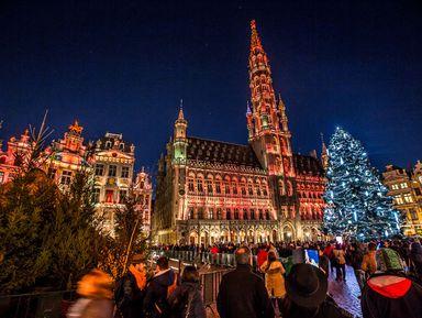Рождественский Брюссель