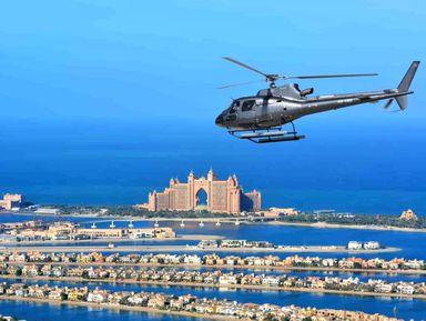 Полет над Дубаем на вертолете!