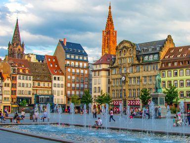 Страсбург — самый оживлённый перекрёсток Европы