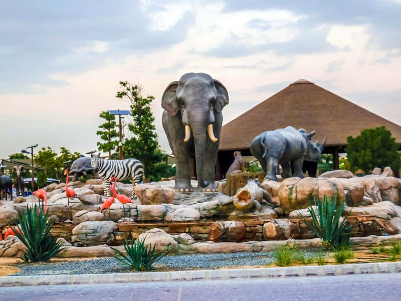 Экскурсия Дубай Сафари-парк: групповая поездка в мир животных