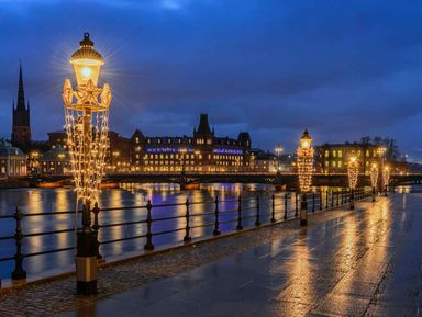 Вечерний тур по Стокгольму