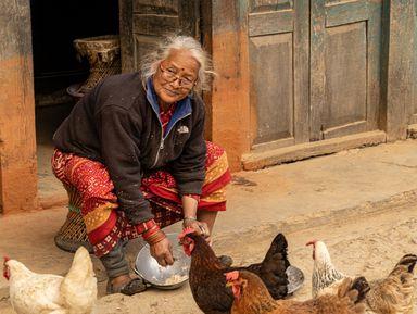 Этнографическое путешествие похолмам Катманду