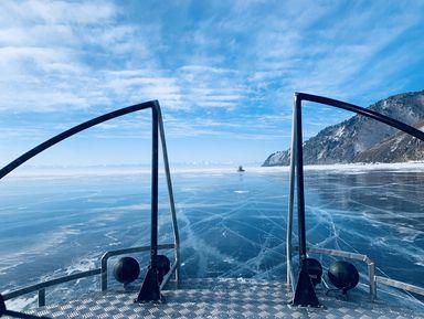 Голубой лед Байкала