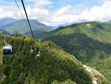 Путь квершинам: лучшие панорамные виды Сочи