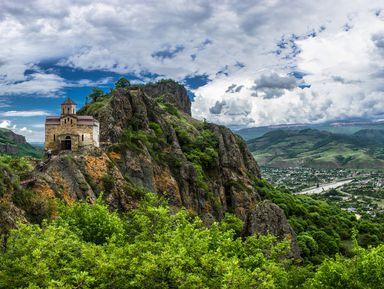 Перевал Гум-Баши и гора Шоана: дорога к сердцу Кавказа