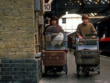 Гарри Поттер на улицах Лондона