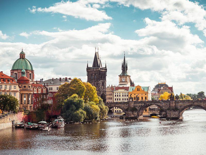 Онлайн-прогулка по улочкам старой Праги