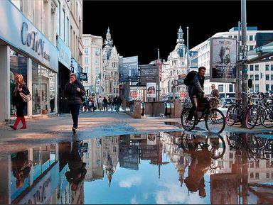 Волшебство в Антверпене