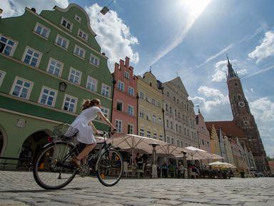 ПоМюнхену навелосипеде— рассмотреть город совсех ракурсов