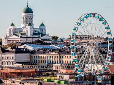 Хельсинки как на ладони