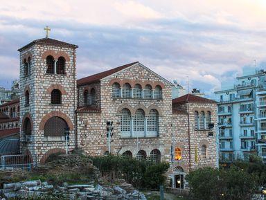 Православные святыни Салоников