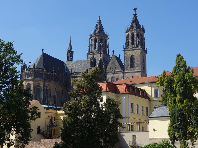 Город поимении Отто— великолепный Магдебург