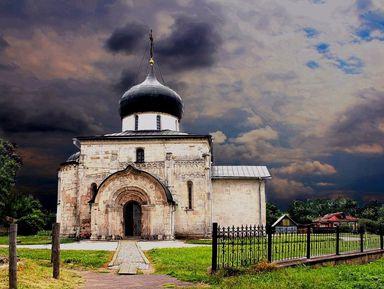 Юрьев-Польский— белокаменный шедевр Золотого кольца