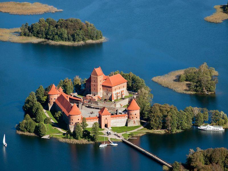 Экскурсия Тракай — резиденция литовских князей