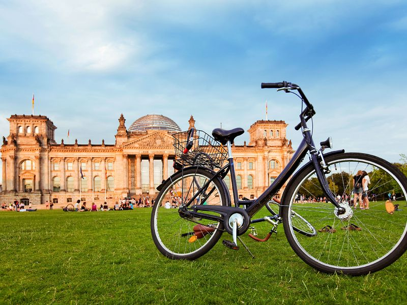 Экскурсия По Берлину на велосипеде!
