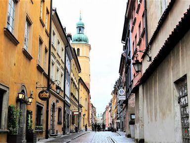 Варшава шаг за шагом