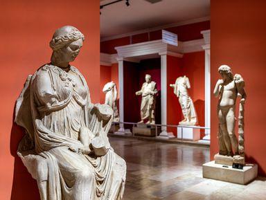 Квест-экскурсия вархеологическом музее Анталии