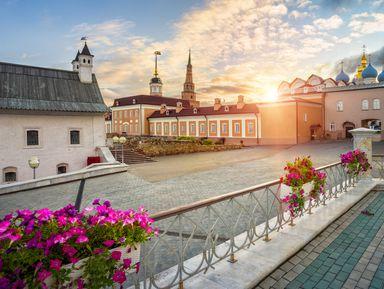 Казань неповторимая и величавая