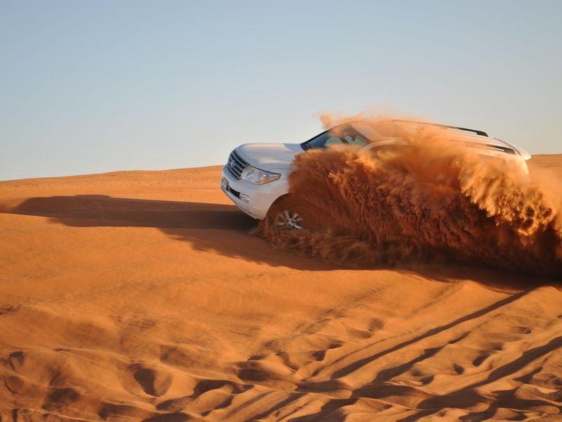 Экскурсия Сафари по Аравийской пустыне